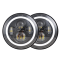 OEM 7 inch round led headlight  halo lights accessories for jeep wrangler jk