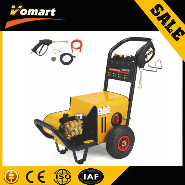 220V 2.2KW automatic mobile car washing/electric cleaning high pressure water gun