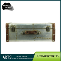 High Quality Strong Vanity Aluminum Metal Suitcase Packaging Box for Storaging