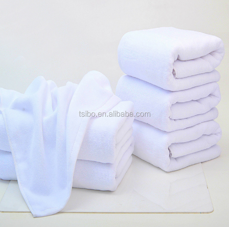 high quality 100% cotton big hotel bath towel embroidery logo