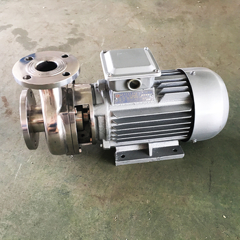high viscosity liquid conveying stainless steel motor water pump with optional spare parts for selling