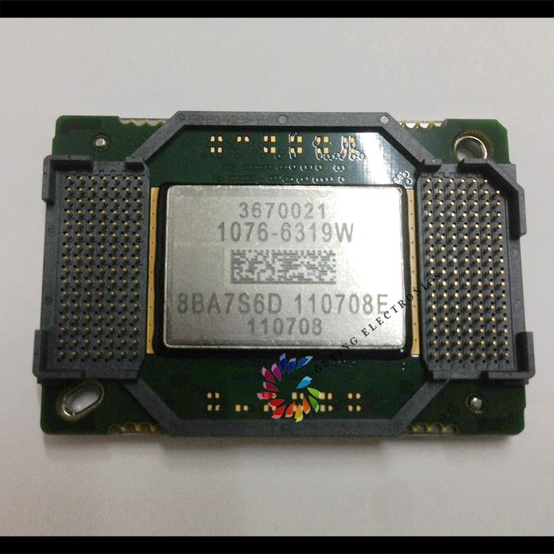 Good Tasted Projector DMD Chip 1076-6328W 1076-6318W second hand For BenQ Projector MP777