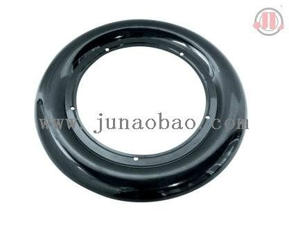 Plastic car bed wheel