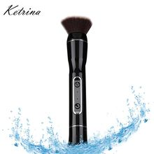 Electric Rotatable 3 in 1 cosmetic makeup brush set