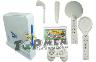 16 bits interactive wireless TV game player