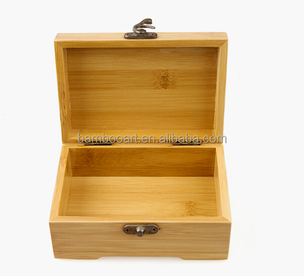 natural customized bamboo box
