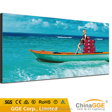 Manual outdoor fabric textile screen frameless poster frame insert light box cloth banner printing light box