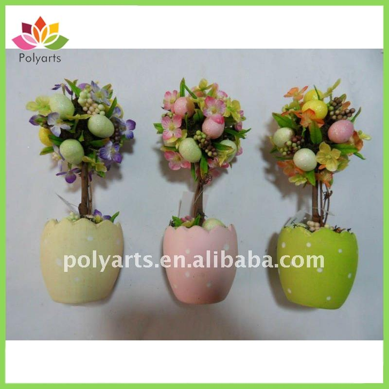 Egg Topiary, Easter Decoration, Holiday Decoration