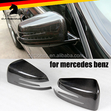 car carbon fiber side mirror cover for Mercedes benz w204 w207 w212 w216 w218 w221 <strong>w164</strong> rear mirror cover