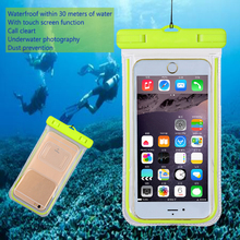 Universal Glow in the Dark Noctilucent Waterproof Mobile Phone Case