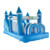 YADR New Design Residential Inflatable Obstacle Courses Inflatable Bounce Castle Play House For Kids