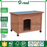 Embroidery Design Oem Production Water Proof Design Wooden Fire-Proof Dog House For Big