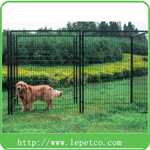 Large outdoor galvanized dog kennel welded wire 5ft dog kennel cage
