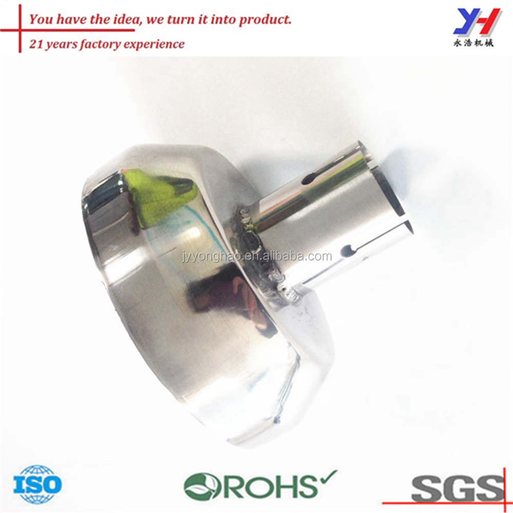 OEM ODM high quality motorcycle accessories scooter pipe parts