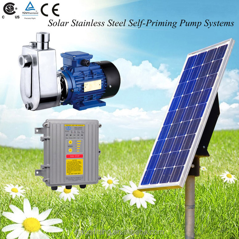 250W-3000W Solar water Pump, Self-Priming Pump with Brushless DC Motor,pump water supply