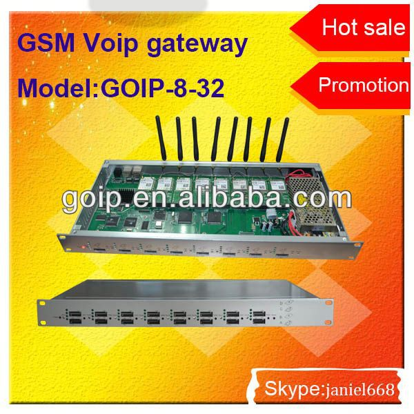 32 port sim GSM/CDMA/WCDMA voip gateway,voip coin payphone