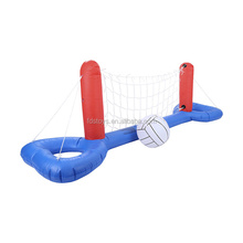 giant inflatable volleyball game toy float for kids swimming pool fun