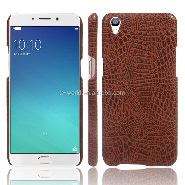 Slim design PU leather mobile phone case for oppo neo 5, back cover leather case