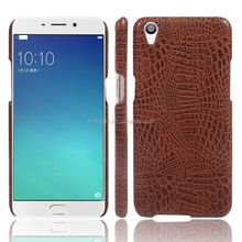 Slim design PU leather mobile phone case back cover leather case for oppo neo 5