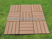 wood composite outdoor interlocking garden tiles