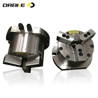 6 inch Vertical three jaw high-speed Through-hole Chuck For Cnc