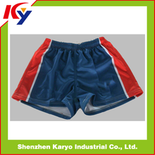 Sublimation Breathable Durable Rugby League Playing/training Shorts