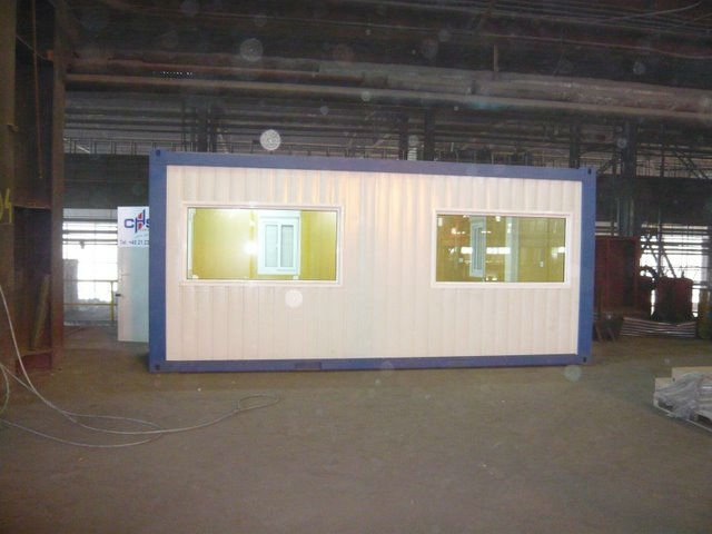 low price prefabricated flat pack modular container office