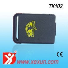 XeXun TK102-2 Hand Held Use Mini Portable GPS Tracking Device with LBS Tracking and SD Slot,jewelry tracking device