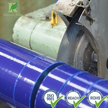 Professional Pallet LLDPE Blue Stretch Film with Low Price