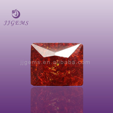 Rectangle AAAAA Face CZ Gems Ice Synthetic Stones Cubic Zirconia Price