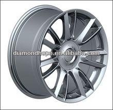 Different size 18&20 inch PCD 120 replica matt black alloy wheel rims (ZW-P482 )