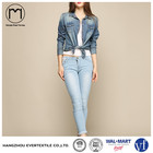 Fashion clothing denim shirt women Jeans blouse with facyory price