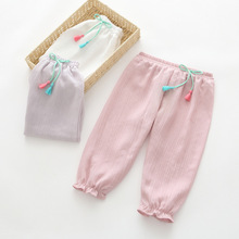 BW06 2017 Hot Selling Children Kids Pants Girls Pants Baby Girl Harem Pants