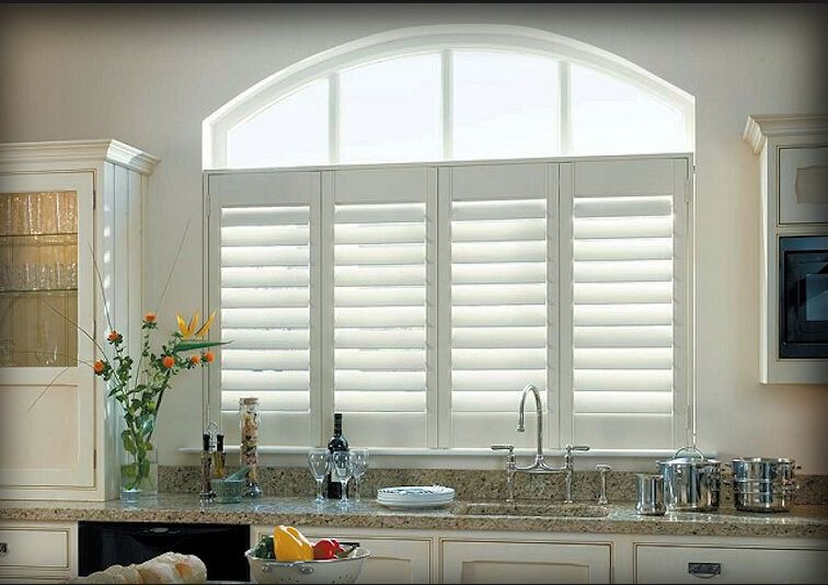 Electric plantation shutters electric window shades