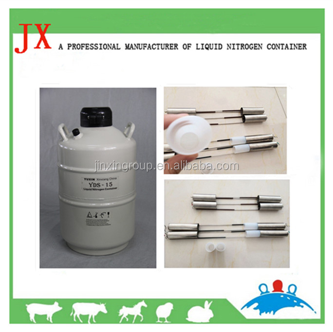 Agricultural project liquid nitrogen tank container