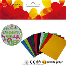 Cheap different thickness solid color felt non-woven fabric