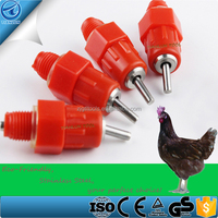 Water Nipple Drinker Chicken Feeder Poultry, Automatic Water Drinking Nipple Feeder Cups Drinker, Factory Poultry Water Nipples
