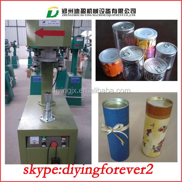plastic jar sealing machine