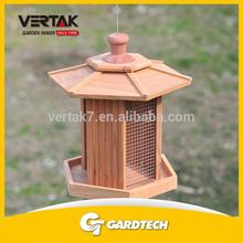Professional garden supplier top 1 wooden bird house