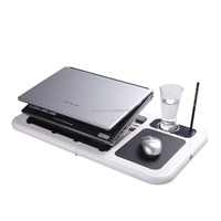 Quality laptop computer flexible table/desk /stand with two powerful fan keep your notebook always cool