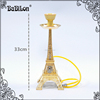 The Eiffel Tower Hookah Red/Green/Black Ancient grinder Whole set Zinc alloy shisha smoking pipe Complete set the best price