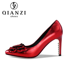 5520 butterfly decoration red and gun color designers woman shoes high heels tube italy