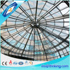 High light transmittance building glass roof materials, tempered laminated glass price