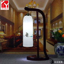 high class table lamp with high temperature ceramic lamp shades