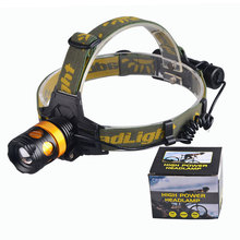 3 Modes Multi-Function Headlight Rechargeable High Power Cusomized T6 or XPE LED Headlamp