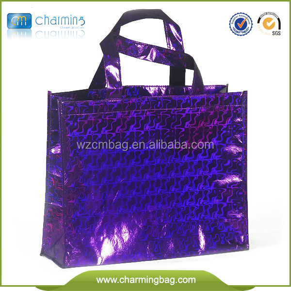Top selling Metallized pp non woven bags/non woven garment bag made in Wenzhou