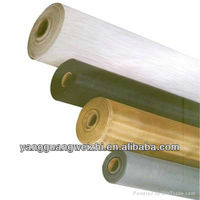 very cheap pvc coated glass yarn insect screen for windows &doors (china factory)