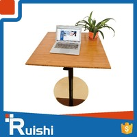 Customized Lift Adjustable Table Professional Coffee Office One Legs
