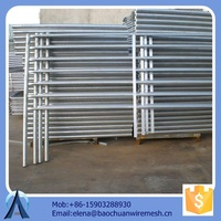 commercial metal fence used horse panels