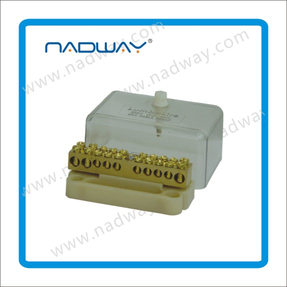 durable quality 100A/10 plastic junction boxes .terminal box unique Gold supplier NADWAY product with copper